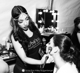 makeup sheissomakeup hairstylist privé stfwla fashionweek